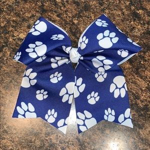 Accessories - Paw Print Bow